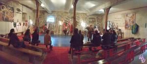 Chateau de Chambre salle d'armes