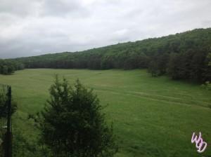 Metairie d'en bor paysage Puivert Gîte Aude