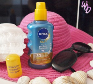 spray protecteur invisible protect and refresh nivea sun