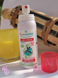 Puressentiel spray anti pique répulsif et apaisant anti moustiques